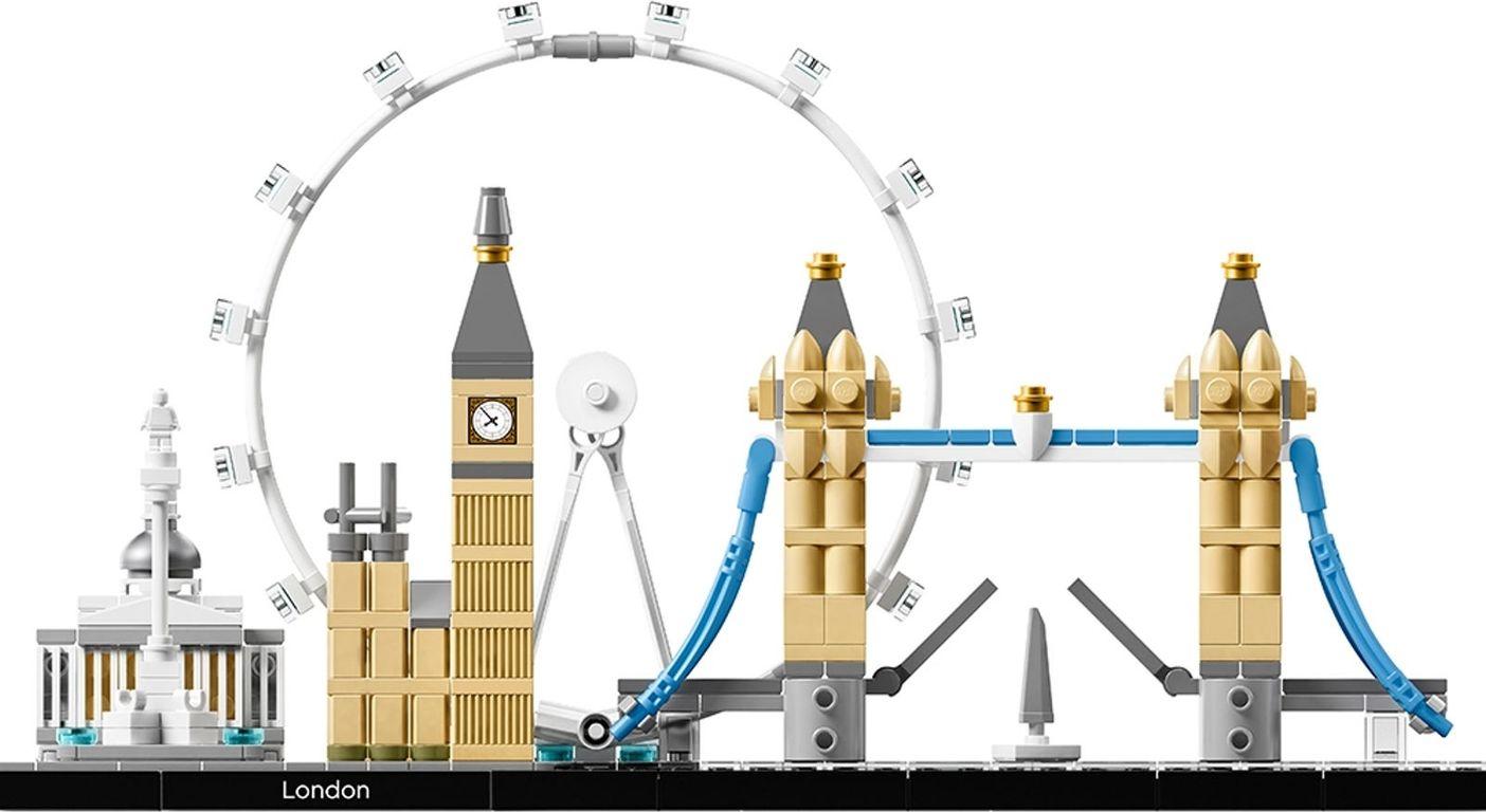 LEGO® Architecture London back side