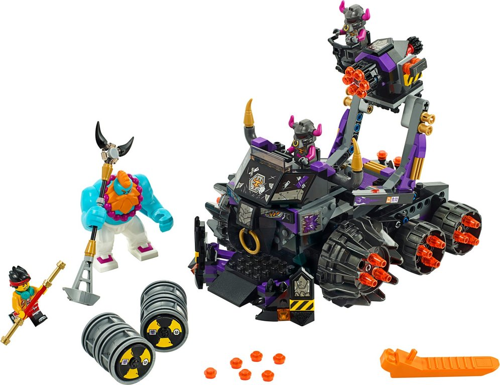 LEGO® Monkie Kid Iron Bull Tank components