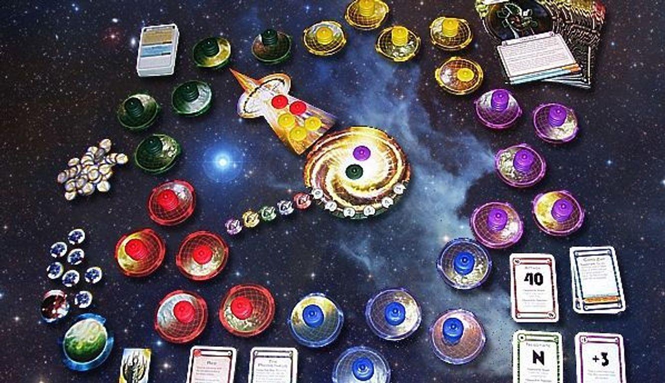Cosmic Encounter gameplay