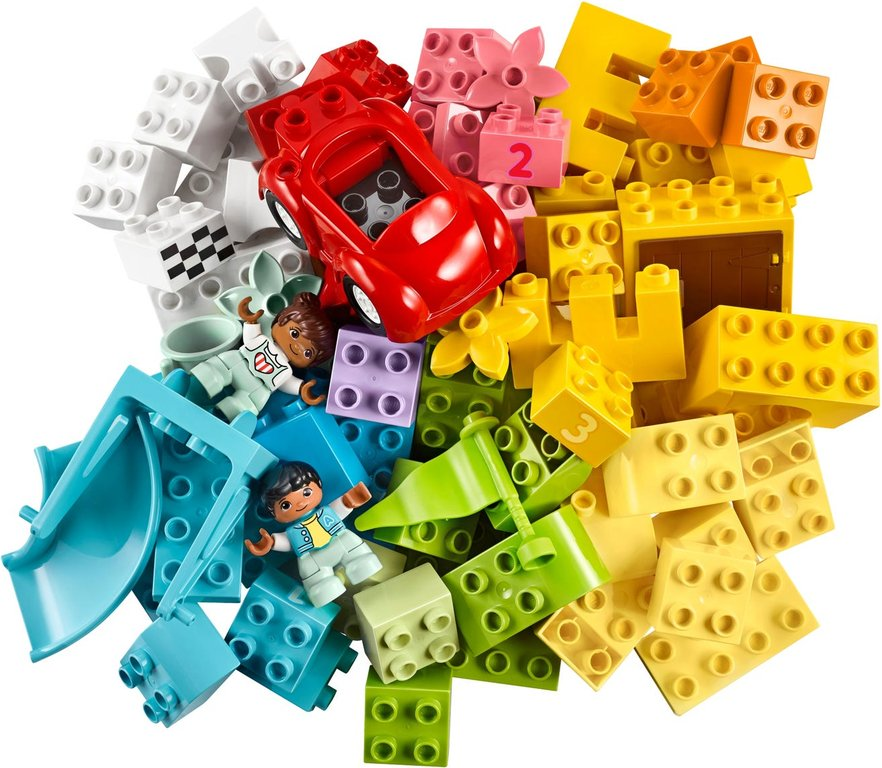LEGO® DUPLO® Deluxe Brick Box components