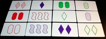 Set cards