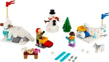 Winter Snowball Fight components