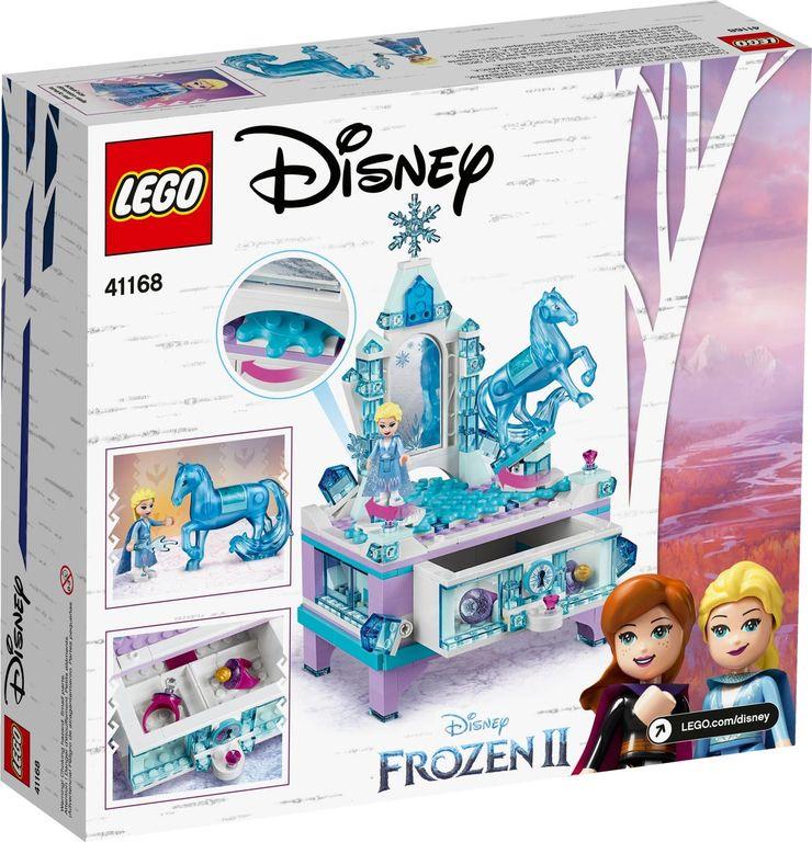 LEGO® Disney Elsa's Jewelry Box Creation back of the box