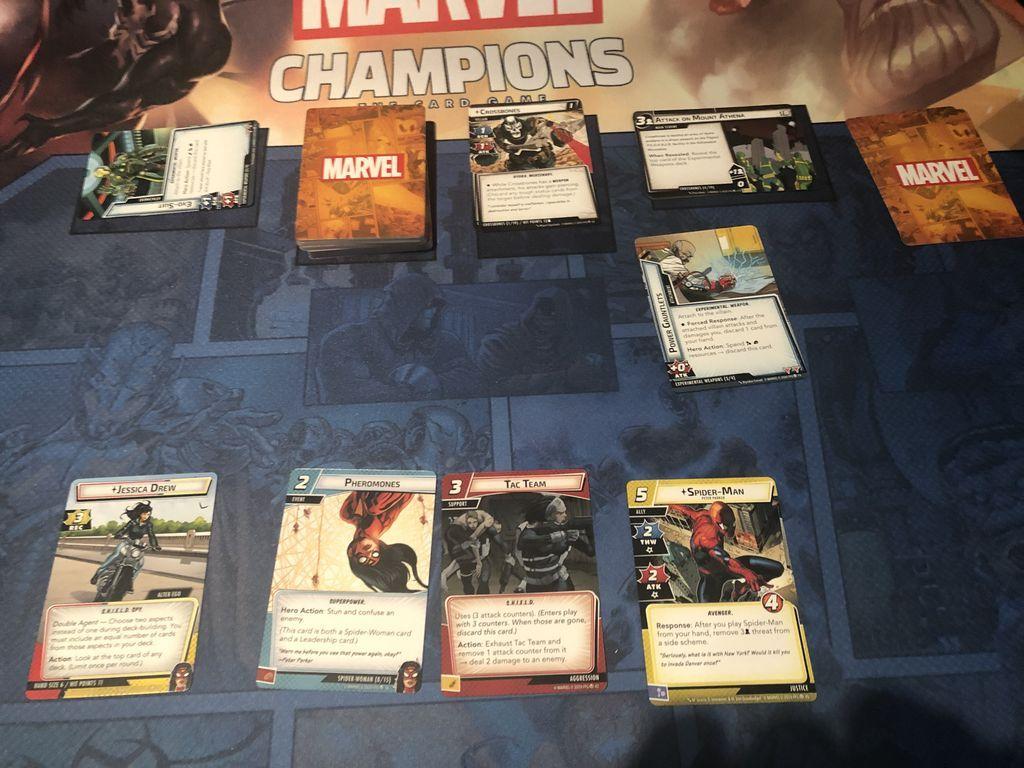 Marvel Champions: Il Gioco di Carte – L'Ascesa del Teschio Rosso gameplay