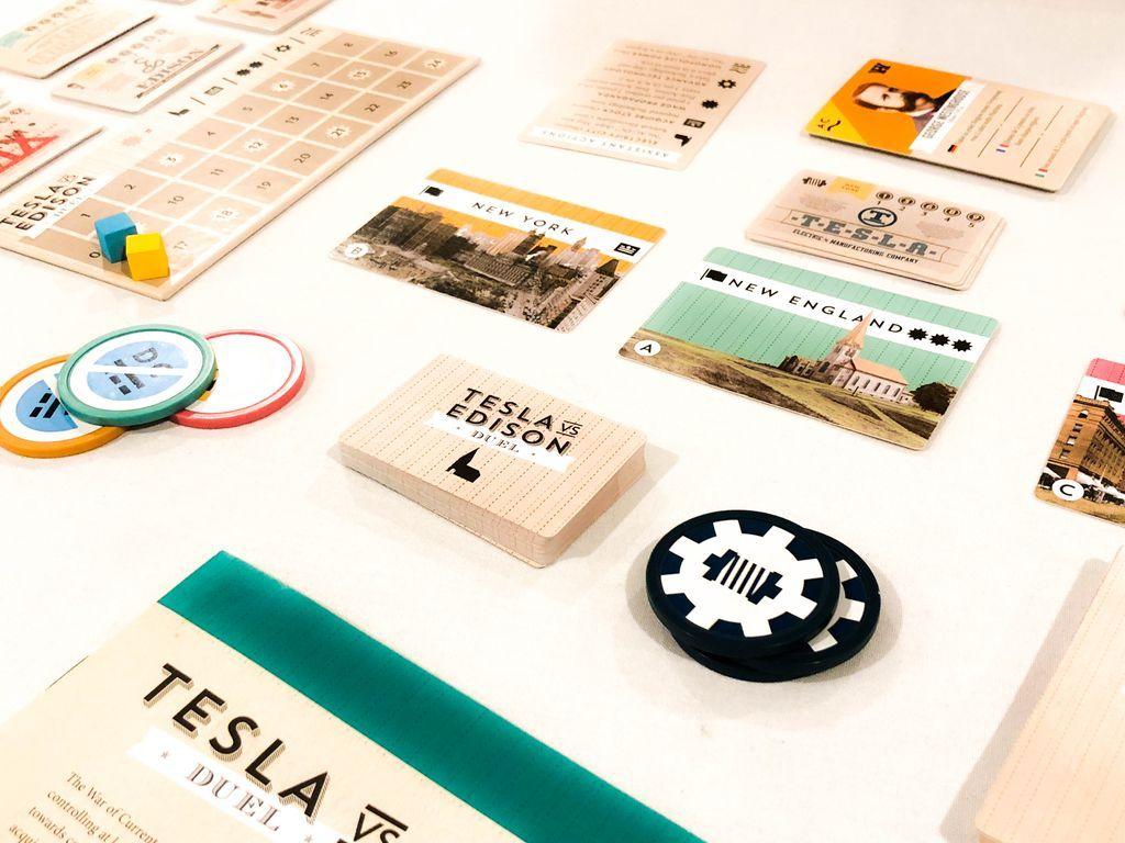 Tesla vs. Edison: Duel gameplay