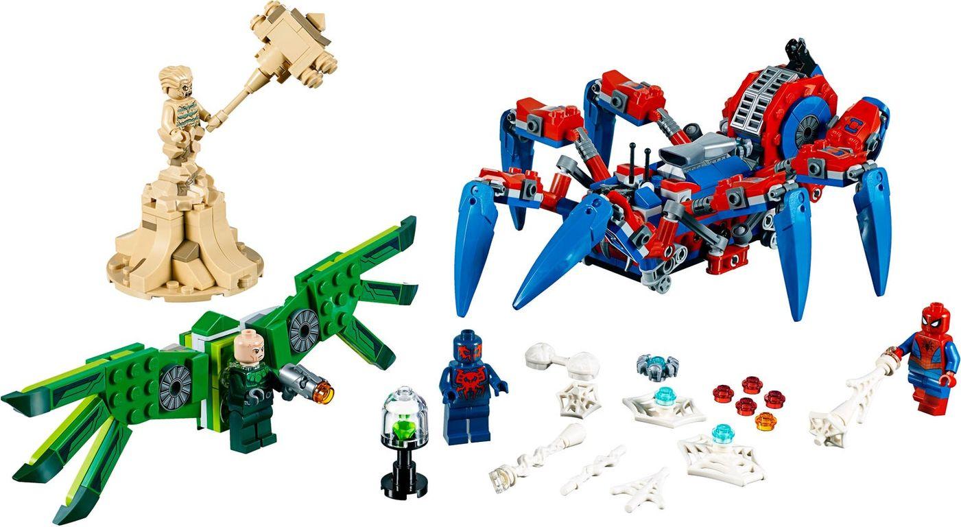 LEGO® Marvel Spider-Man's Spider Crawler components