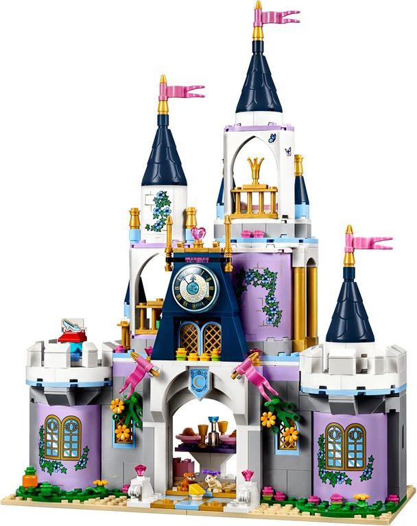 LEGO® Disney Cinderella's Dream Castle components