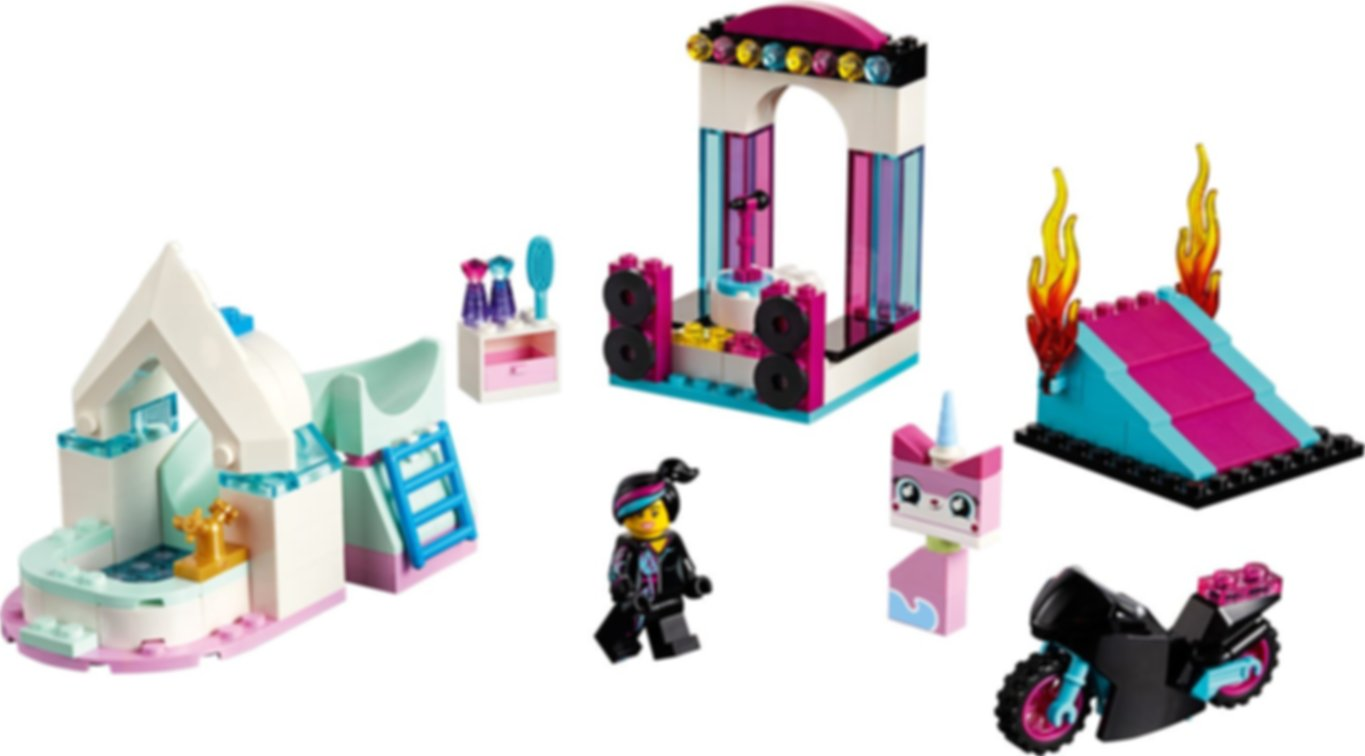 LEGO® Movie Lucy's Builder Box! components
