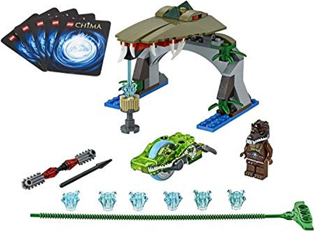 LEGO® Legends of Chima Croc Chomp components