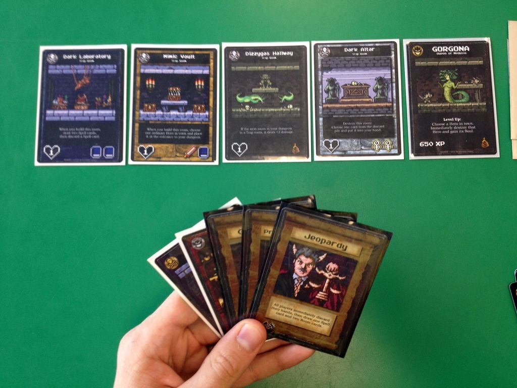 Boss Monster: The Dungeon Building Card Game cards