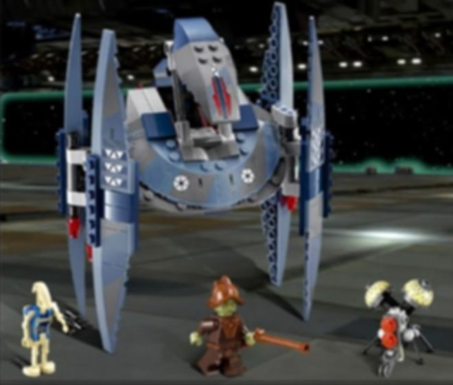 LEGO® Star Wars Vulture Droid gameplay