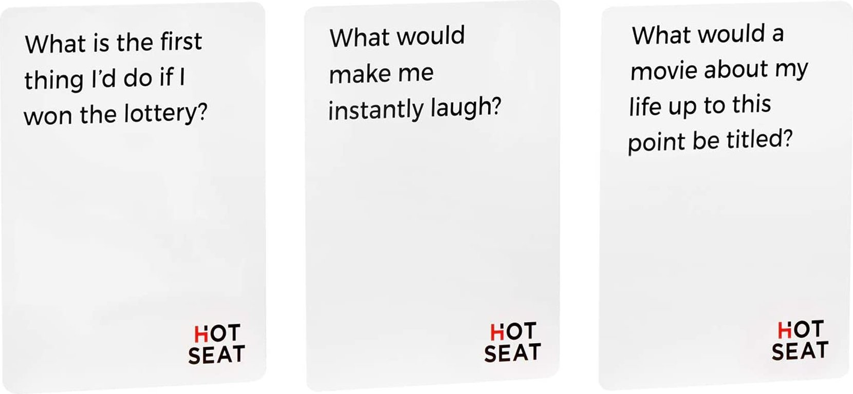 Hot Seat cards