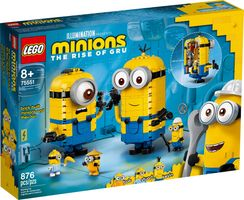 LEGO® Minions Brick-built Minions and their Lair
