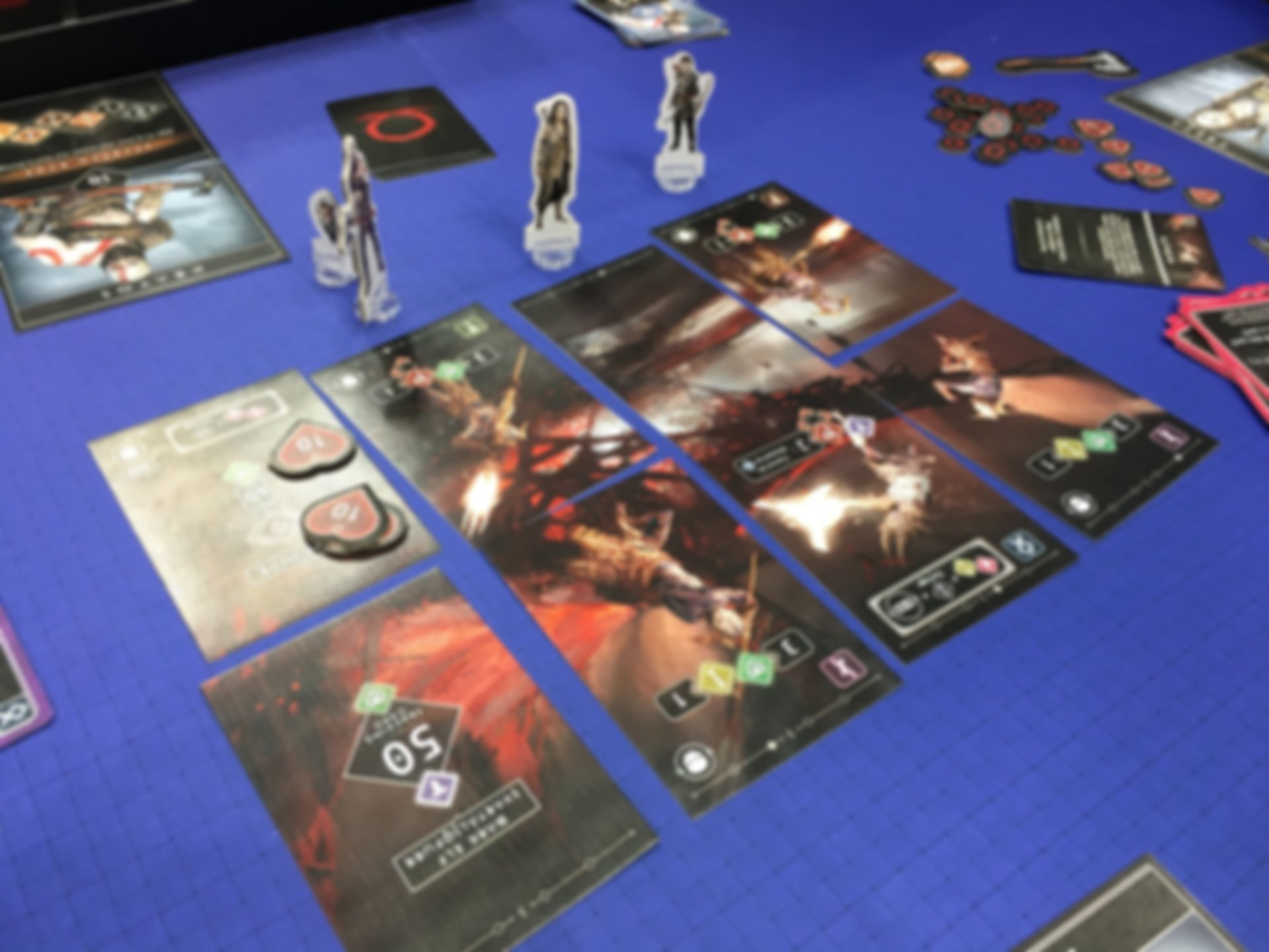 God of War: The Card Game gameplay