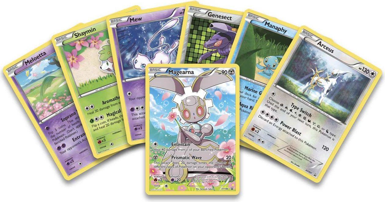 Pokémon TCG: Mythical Pokémon Collection - Magearna cards