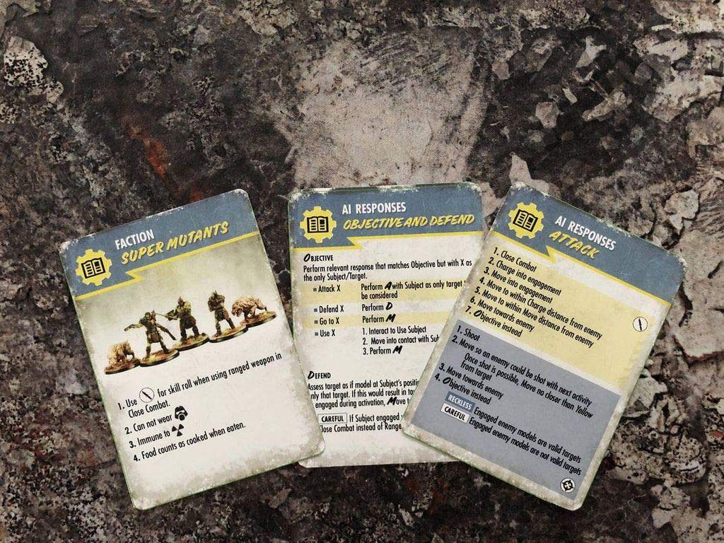 Fallout: Wasteland Warfare cards