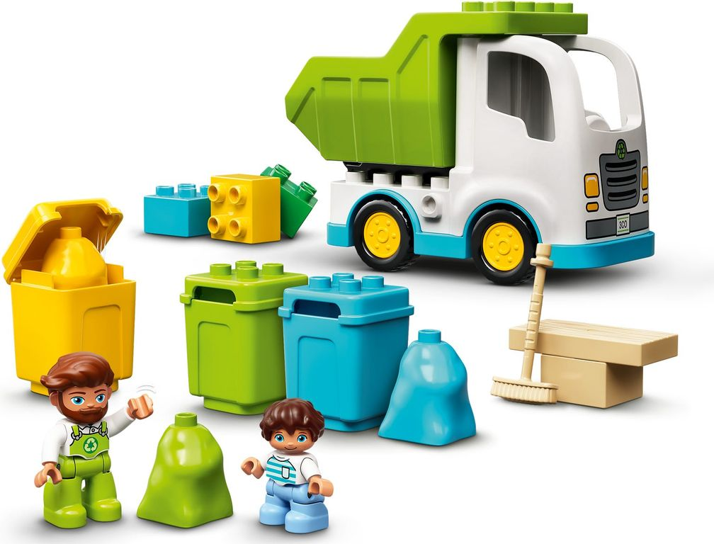 LEGO® DUPLO® Garbage Truck and Recycling gameplay