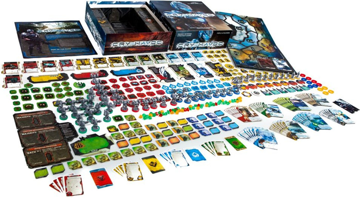 Cry Havoc components