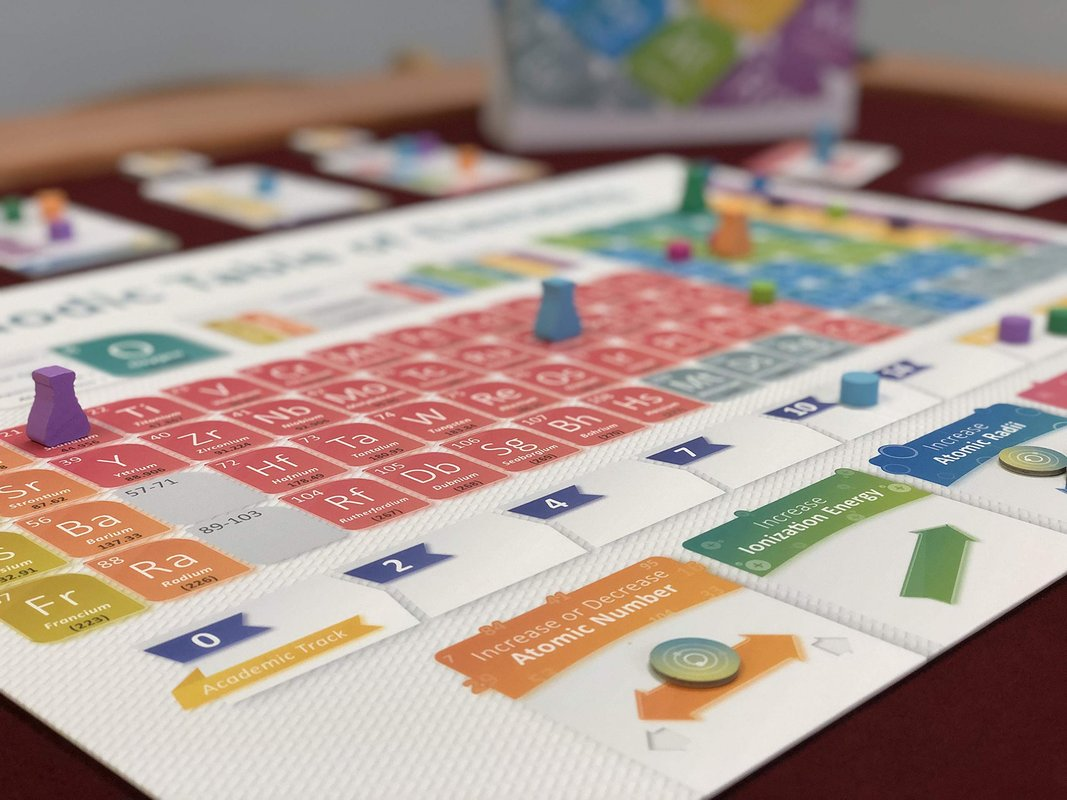 Periodic: A Game of The Elements gameplay