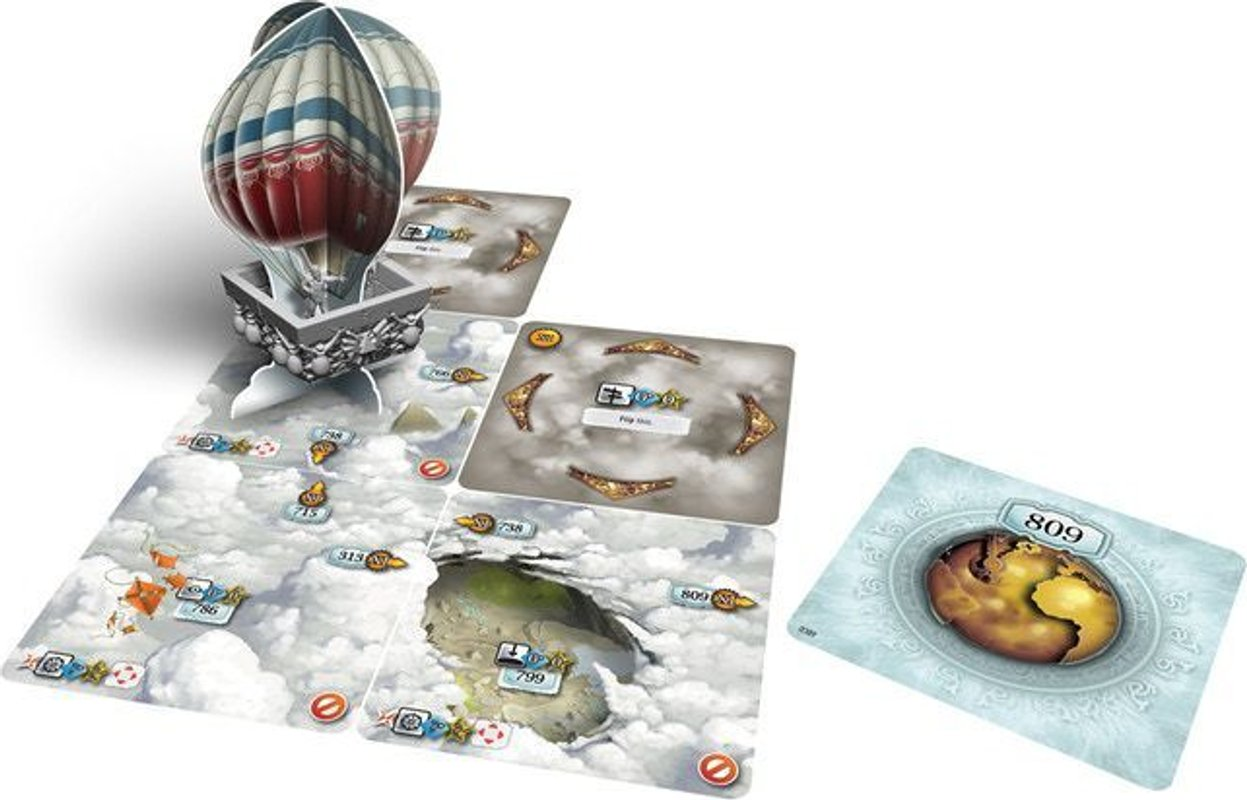 The 7th Continent: What Goes Up, Must Come Down components