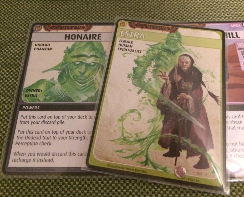Pathfinder Adventure Card Game: Mummy's Mask - Base Set cards