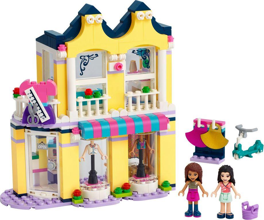 LEGO® Friends Emma's Fashion Shop components