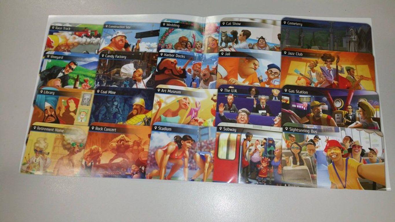 Spyfall 2 cards