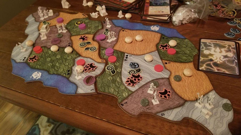 Spirit Island: Branch & Claw gameplay