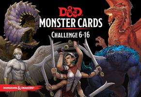 Dungeons & Dragons Spellbook Cards - Monsters 6-16