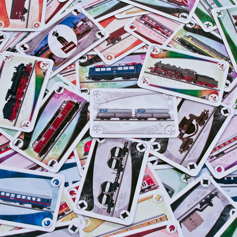 Ticket to Ride: Märklin kaarten
