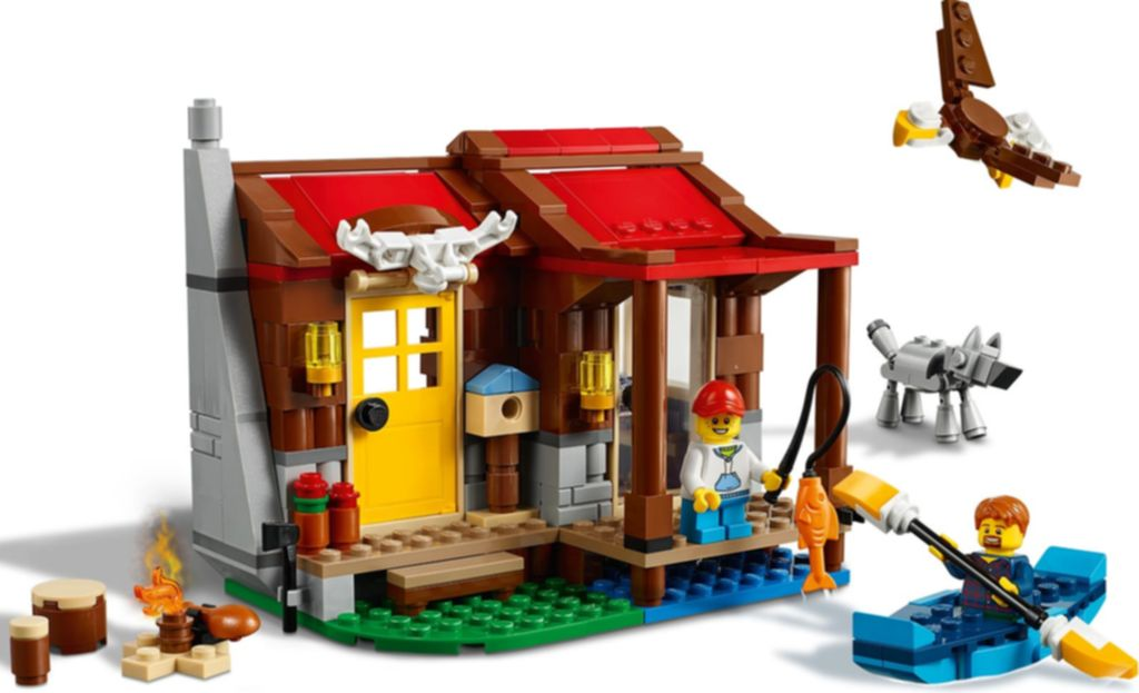 LEGO® Creator Outback Cabin gameplay