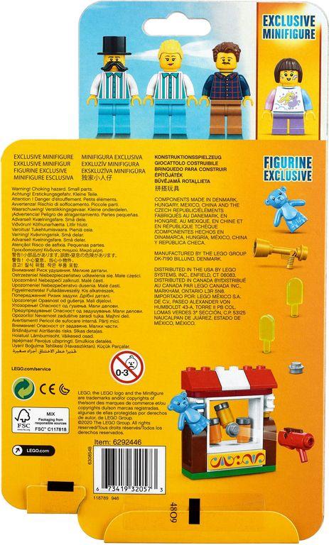LEGO® Minifigures Fairground MF Acc. Set back of the box