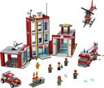 LEGO® City Fire Station Headquarters components