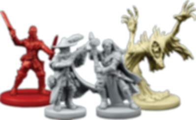 Descent: Journeys in the Dark (Second Edition) - Manor of Ravens miniatures