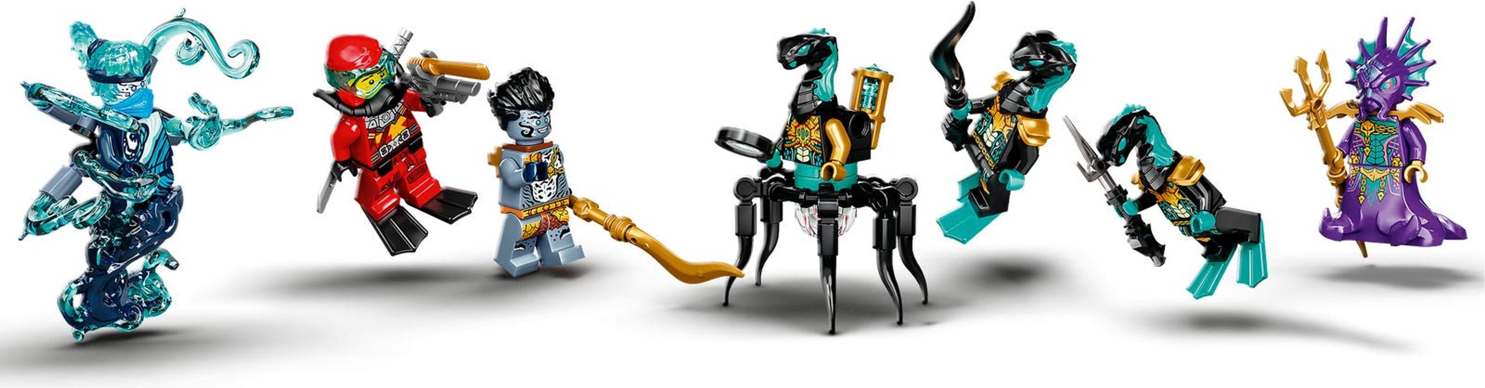 LEGO® Ninjago Temple of the Endless Sea minifigures