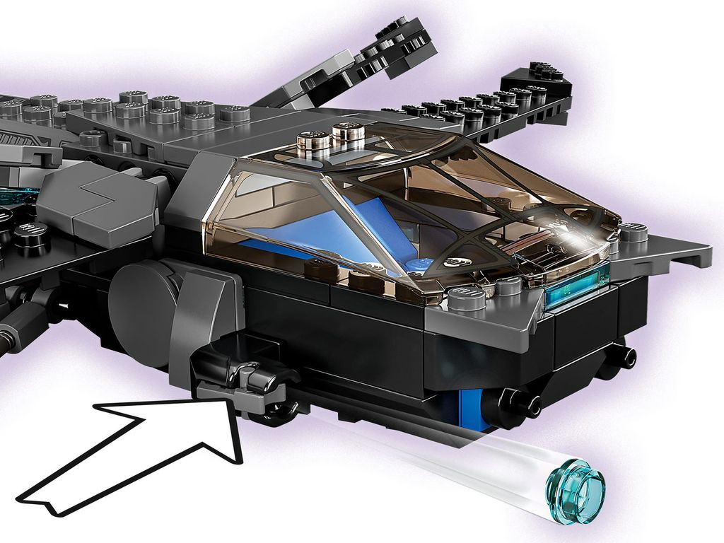 LEGO® Marvel Black Panther Dragon Flyer components