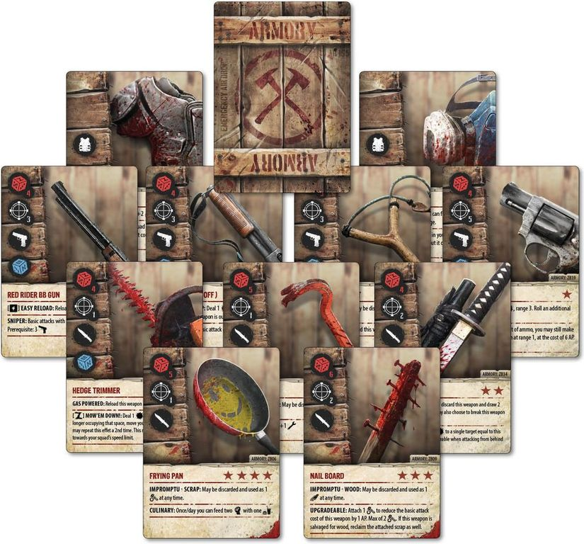Zpocalypse 2: Defend the Burbs cards