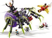 LEGO® Monkie Kid Spider Queen's Arachnoid Base gameplay