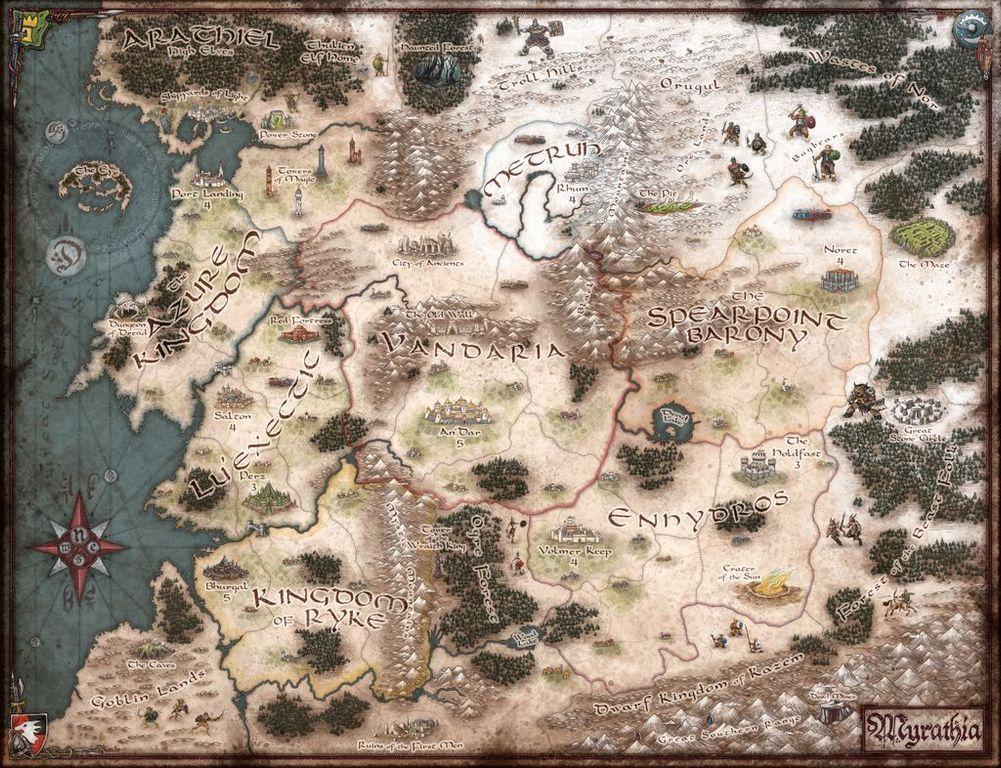WarQuest game board