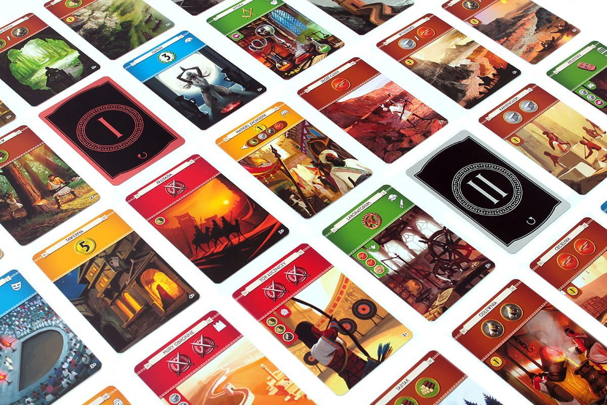 7 Wonders (Second Edition) cards
