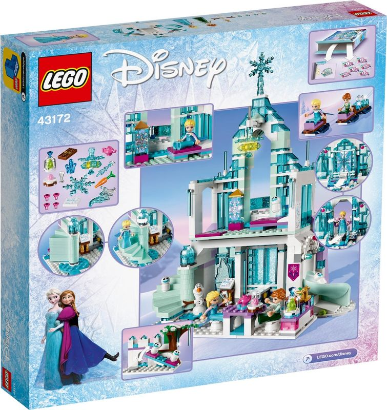 Elsa's Magical Ice Palace back of the box