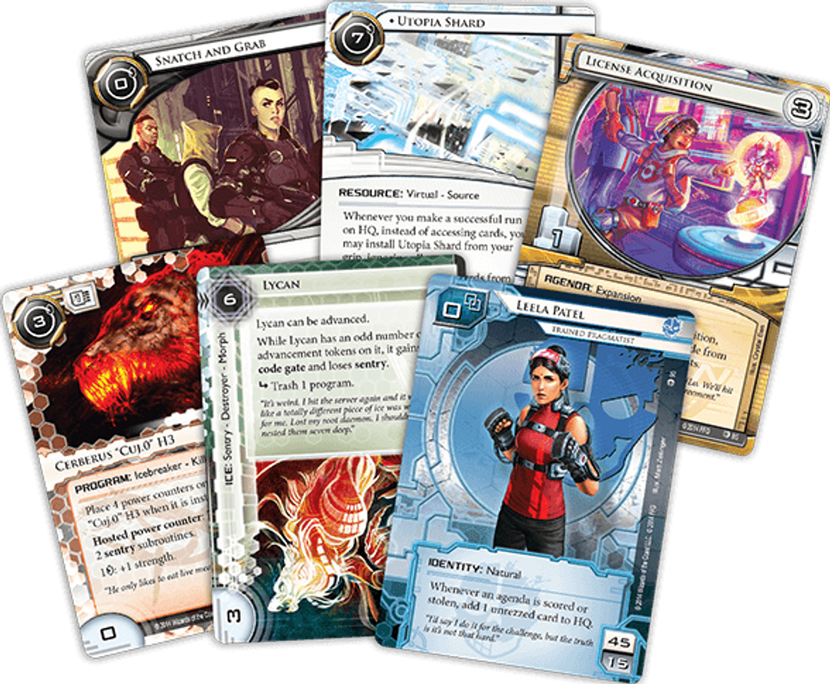 Android: Netrunner - All That Remains cards