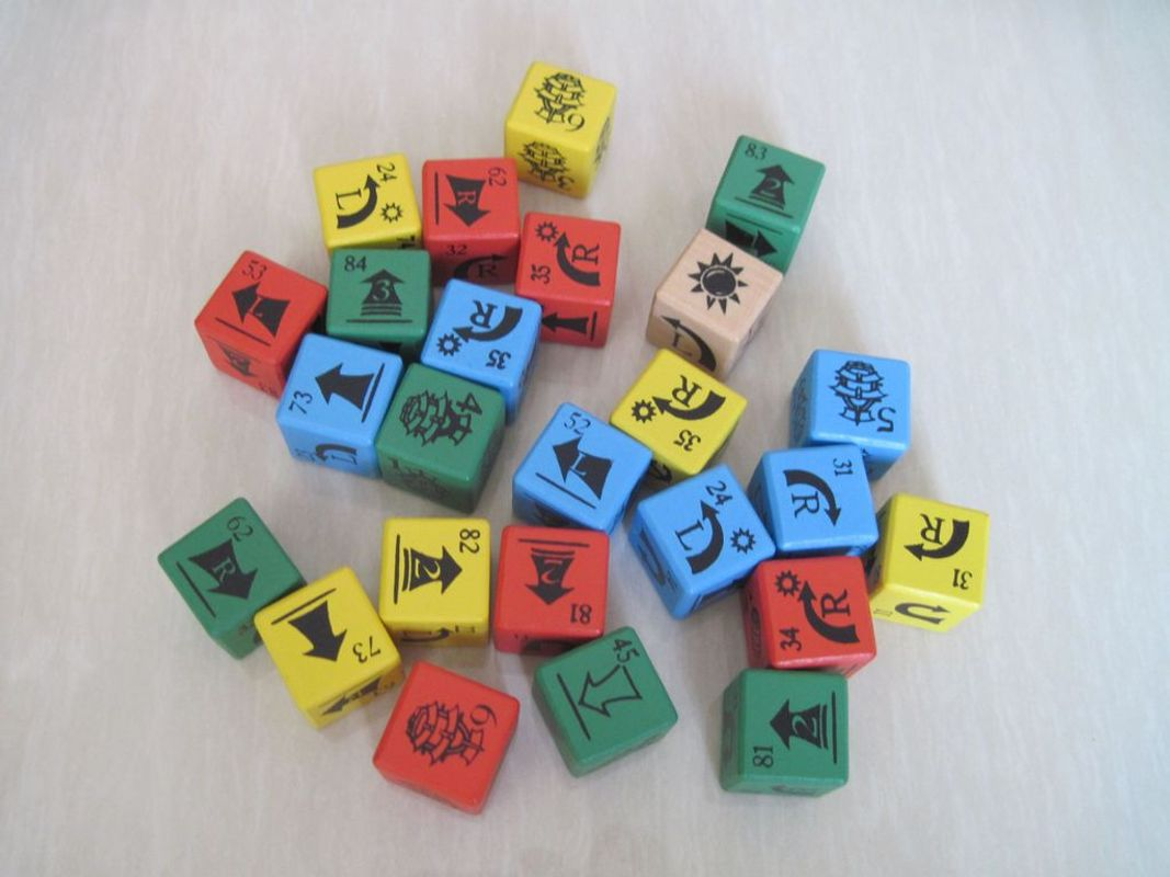 Pirate Dice: Voyage on the Rolling Seas dice