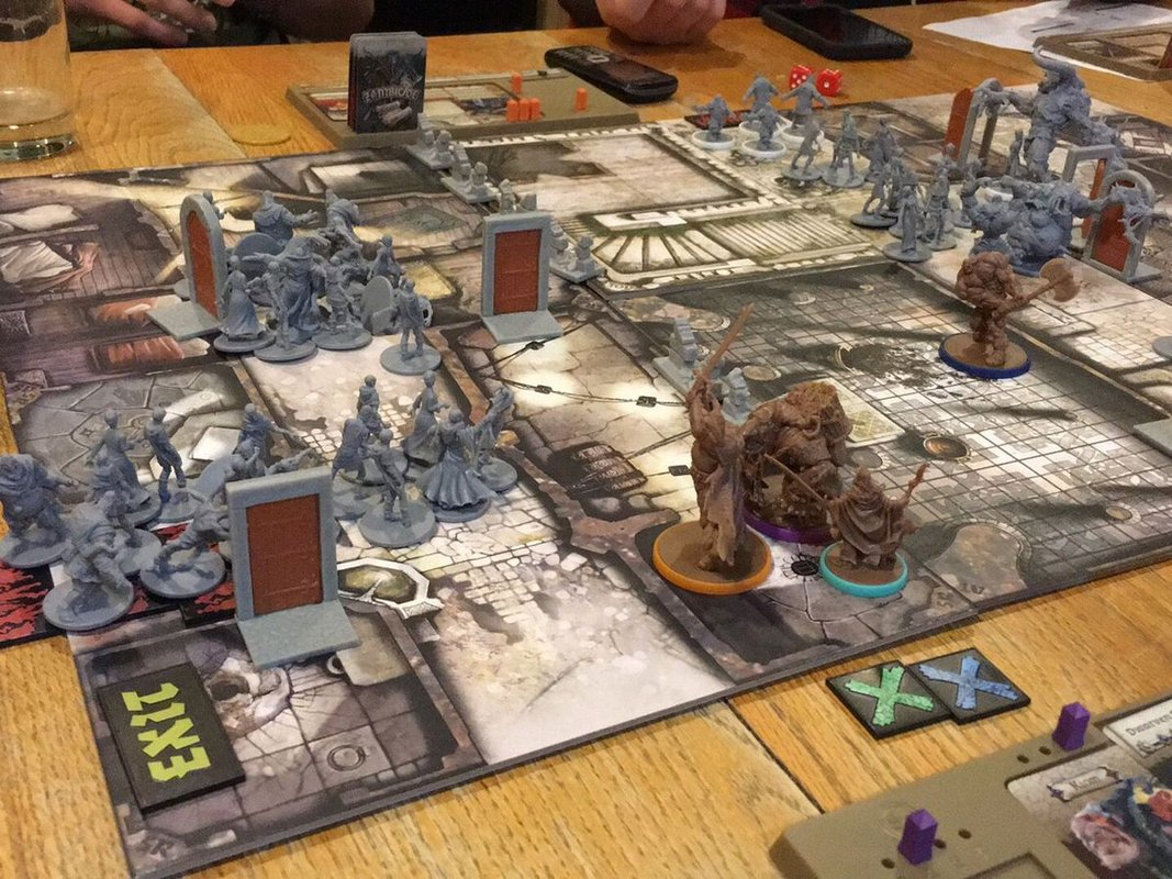Zombicide: Black Plague gameplay