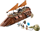 LEGO® Star Wars Jabba's Sail Barge components