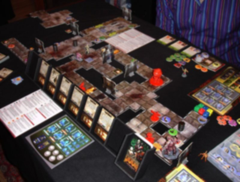 Doom: The Boardgame Expansion Set gameplay