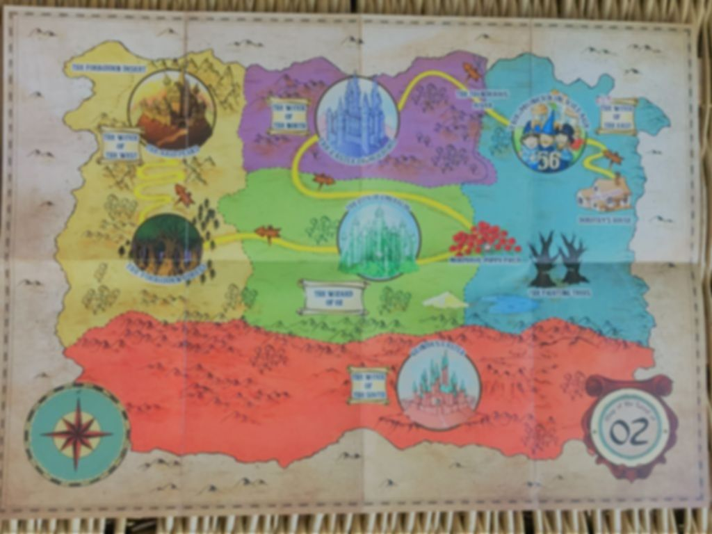 Unlock! Secret Adventures game board