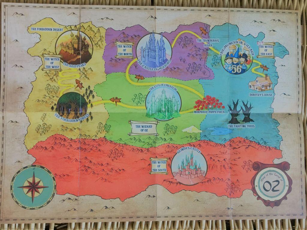 Unlock! Secret Adventures game board