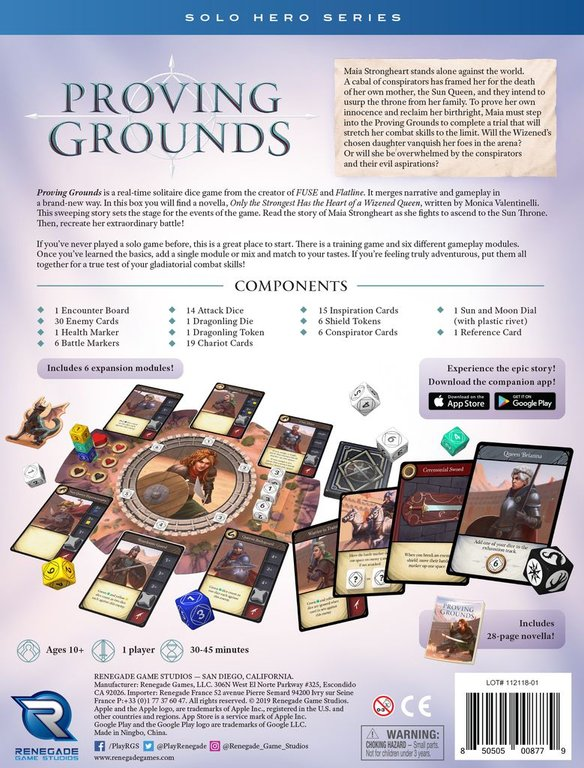 Proving Grounds back of the box