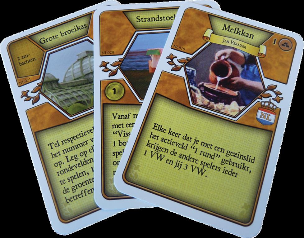 Agricola: De Lage Landen cards